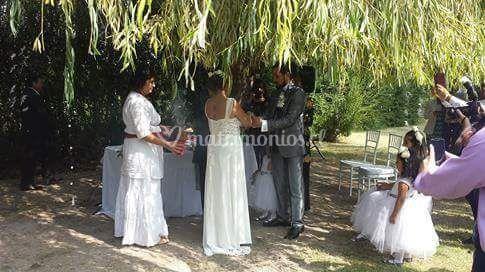 Ceremonias en la naturaleza