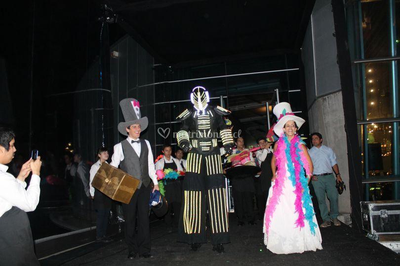 Ingreso cotillón robot led de En Fiesta