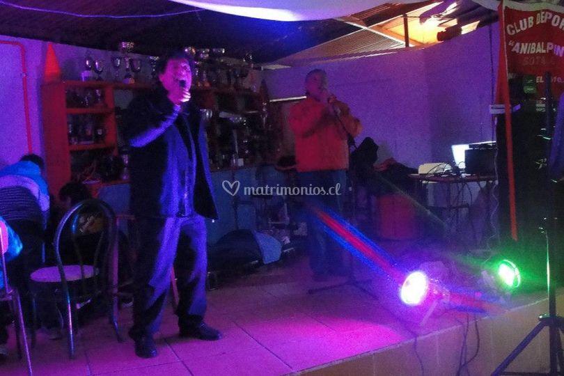 Cantante en vivo