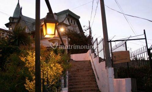 Entrada desde escalera Urriola