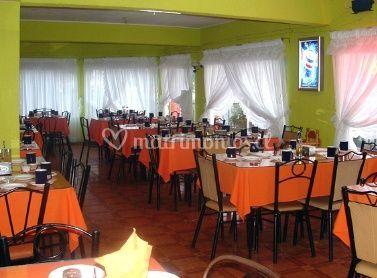 Mesas del restaurant
