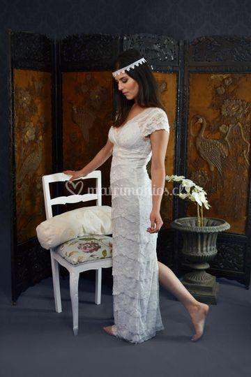 Vestido novia relax