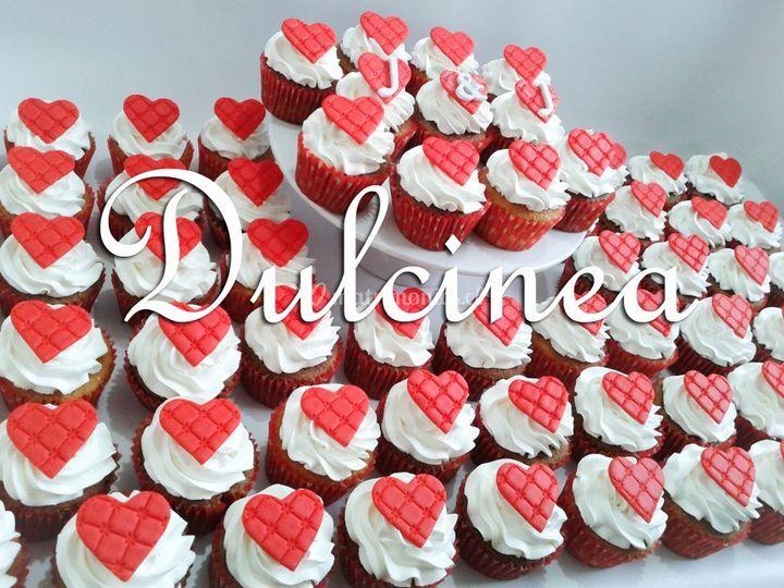 Cupcakes boda J&J