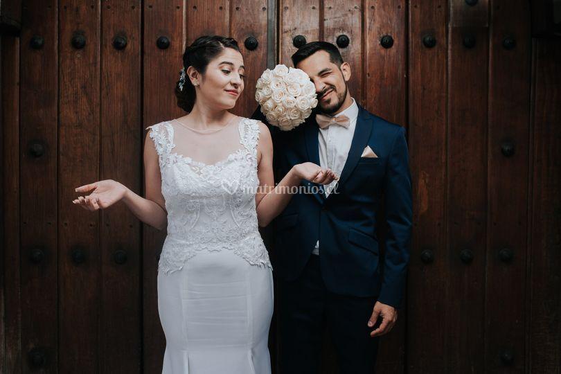 Sesión recién casados fotos