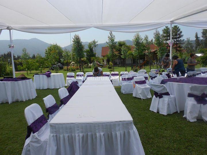 Matrimonios al aire libre de Fiestas Matrimonios