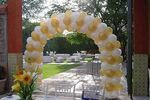 Decoraci�n con globos de Fiestas Matrimonios