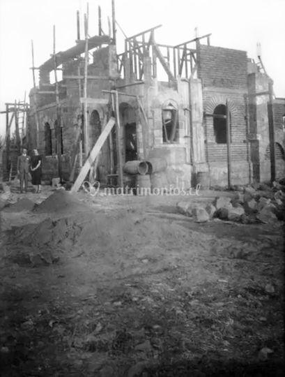 En construcción año 1923