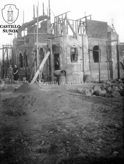 Castillo en construcción 1923
