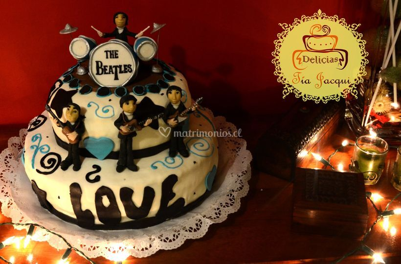 Torta The Beatles