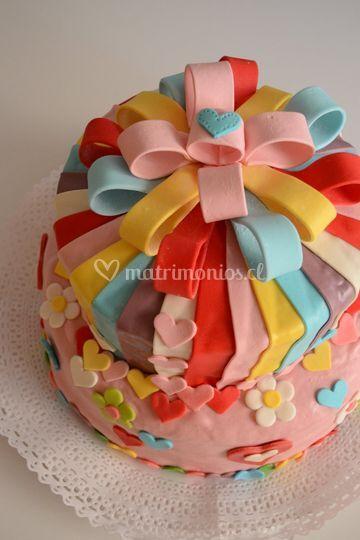 Torta rainbow