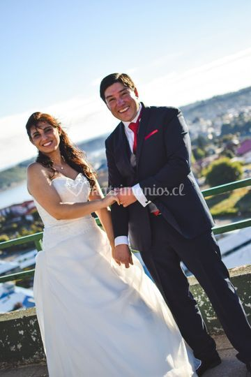 Primeros momentos de casados