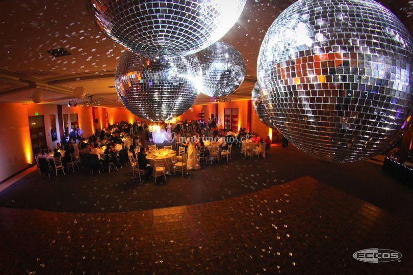 Esferas de cristal de Eccos Eventos
