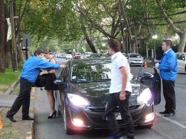 Servicio de valet parking