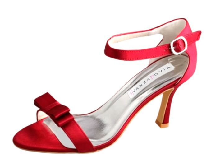 Sandalia Esperanza Rojo