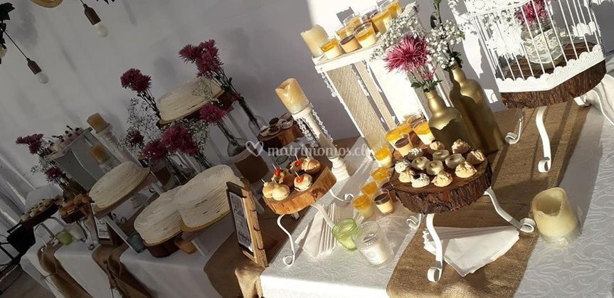 Mesa buffet campestre