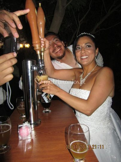 Matrimonio noche