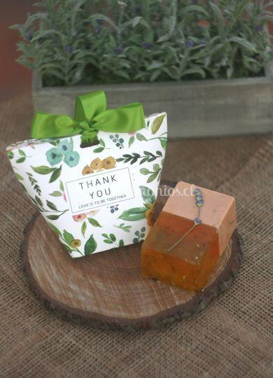 Jabónes naturales aromáticos