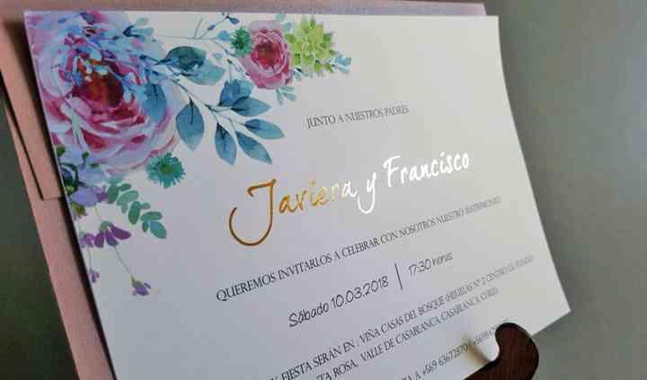 Invitación folia Cód.108