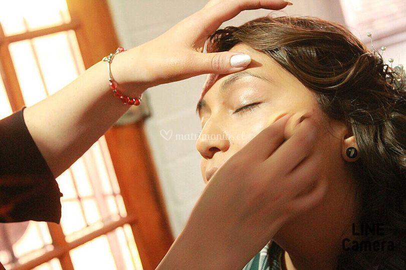 Preparación maquillaje