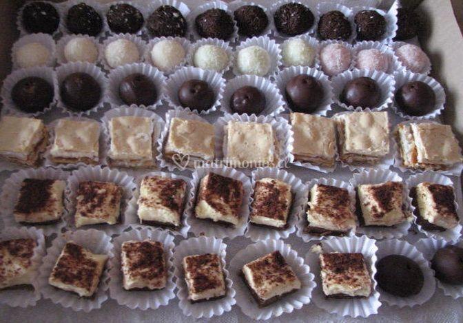 Bocadillos dulces surtidos