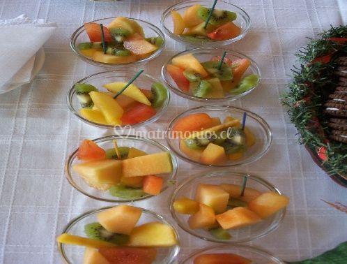 Cocktail de frutas frescas