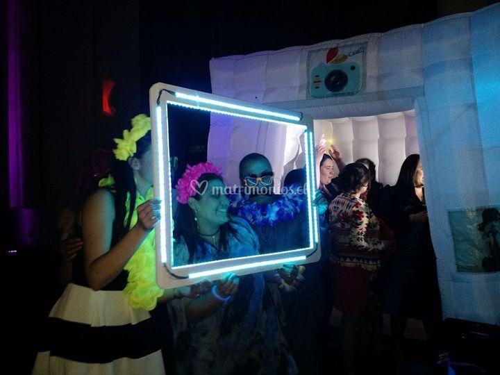 Selfie led, marco móvil