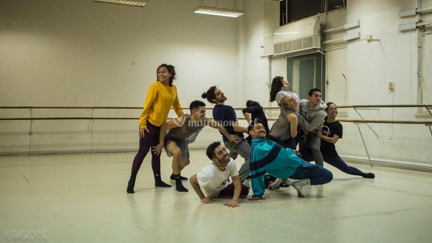 "Ensayo ""Grease"" dance musical"