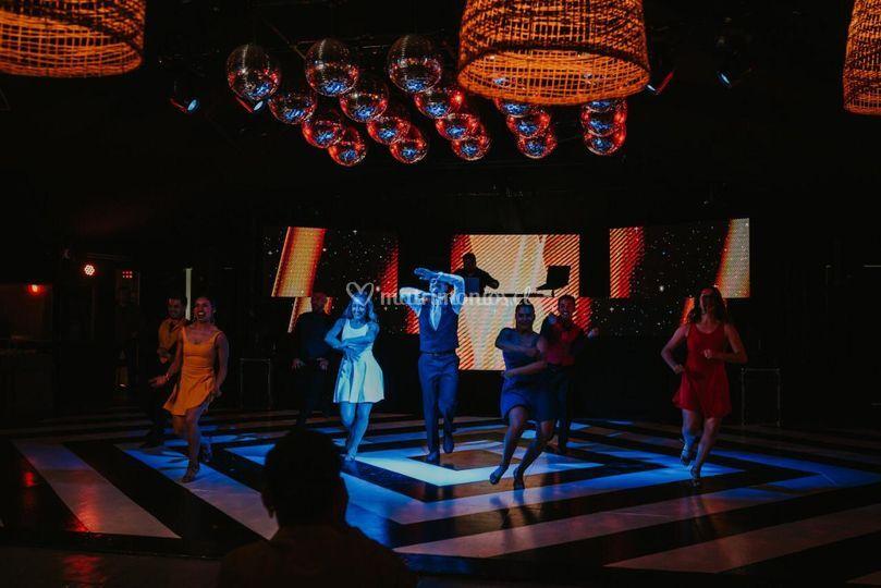 Novios show musical LaLaLand