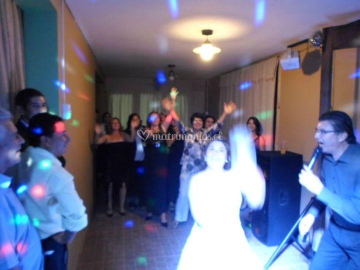 Tirar el ramo de la novia