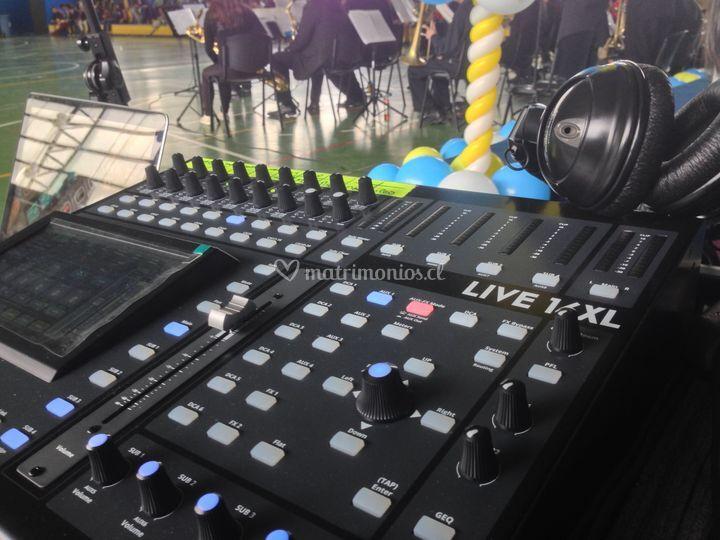 Mesa sonido digital Live16XL