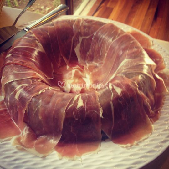 Corona de alcachofas