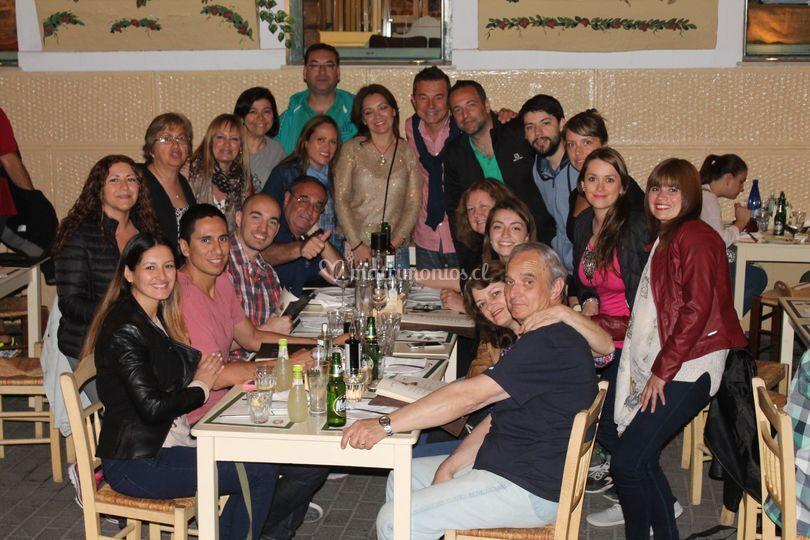 Cenas con gastronomía local
