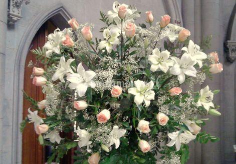 Arreglo floral redondo