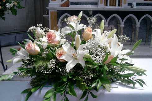 Arreglo Floral Para La Mesa De Novios De Eryan Flores Y Arte