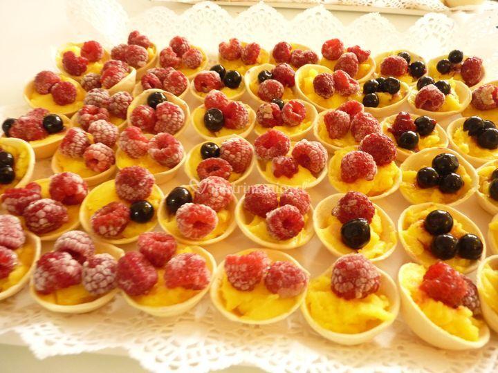 Mini tartaleta de frutas