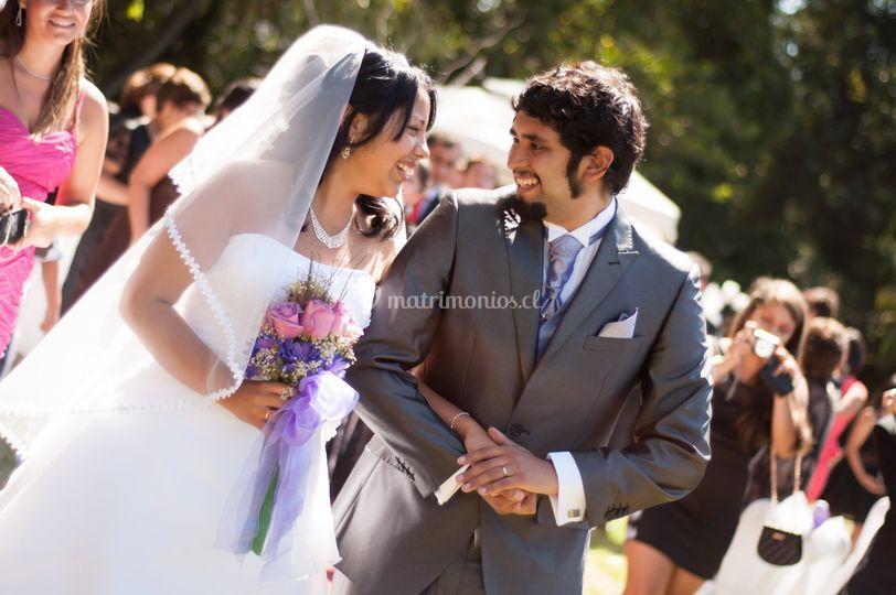 Nos casamos