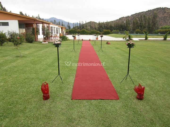Ceremonia y áreas verdes