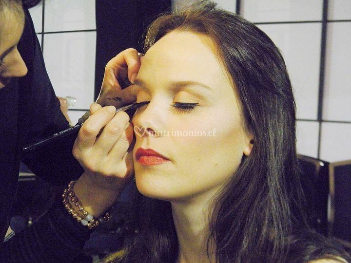 Maquillaje novia expo novios