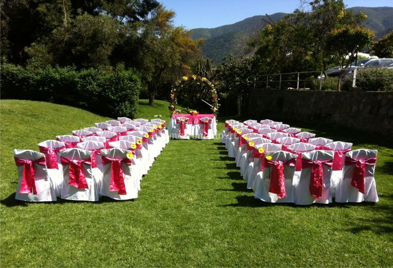 Jardín ceremonias salón 1