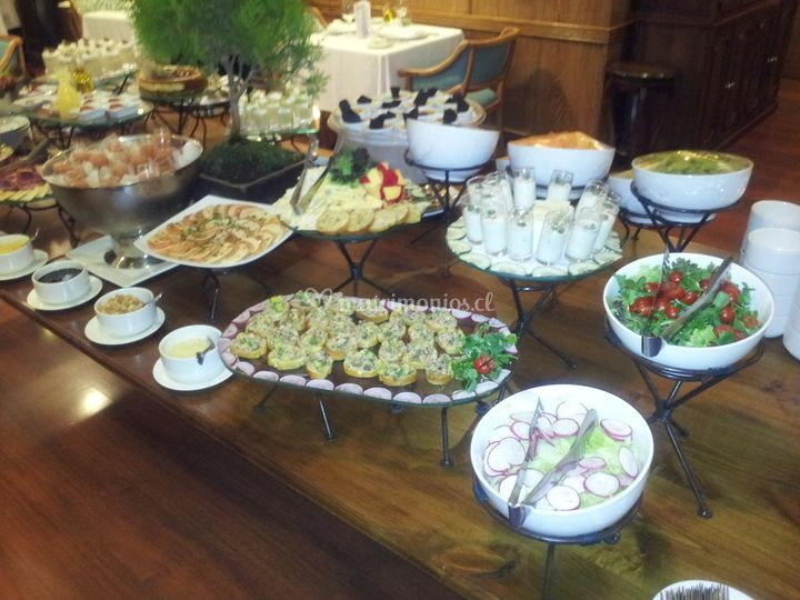 Buffet de aperitivos