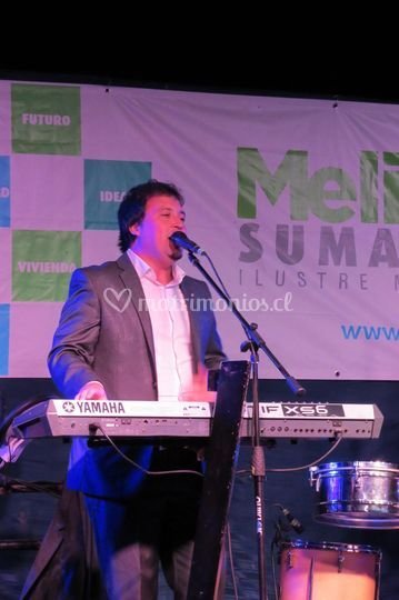 Braulio, teclados y voz