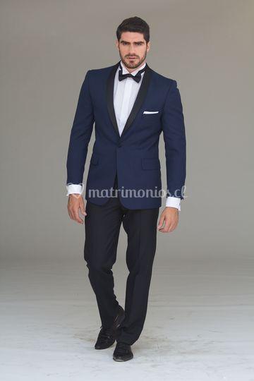 Tuxedo azul francia