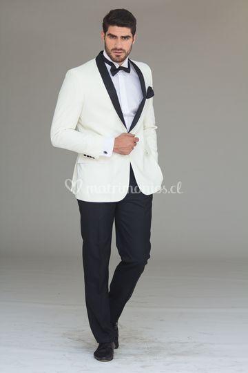 Tuxedo blanco invierno