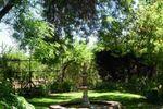 Estatua en el jardín