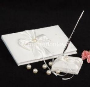 Libro con perlas