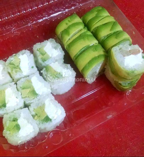Sushi sin nori