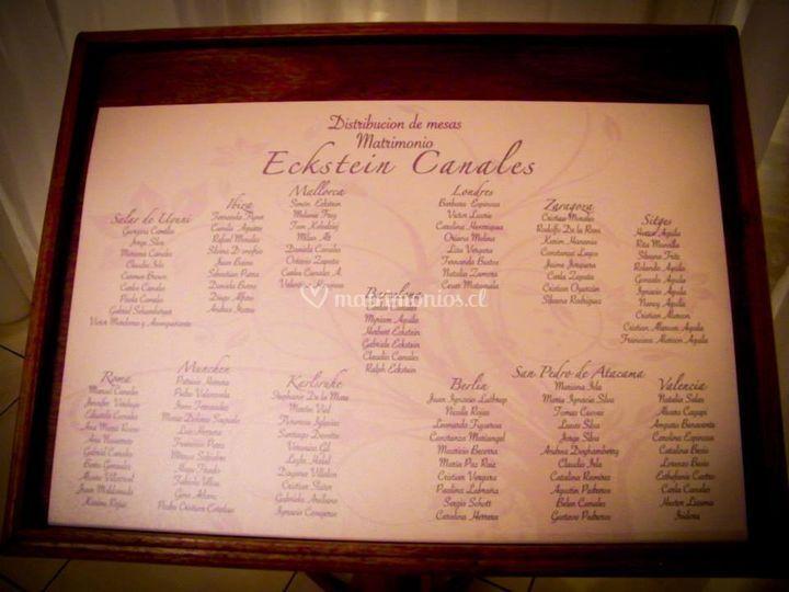 Tarjetón invitados