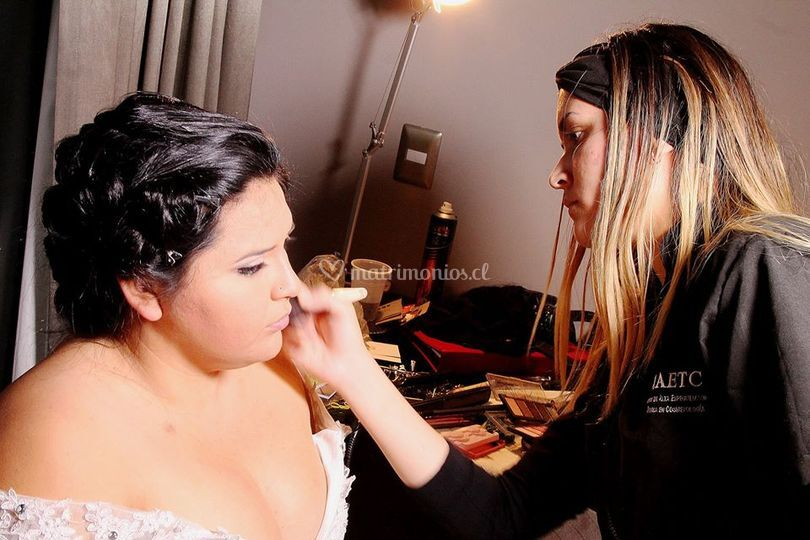 Preparando a una novia