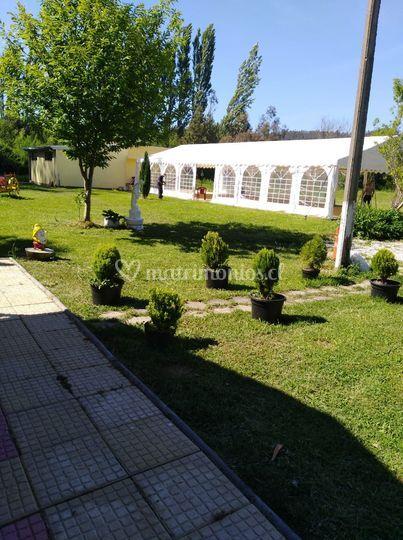 Foto exterior, hacienda de día