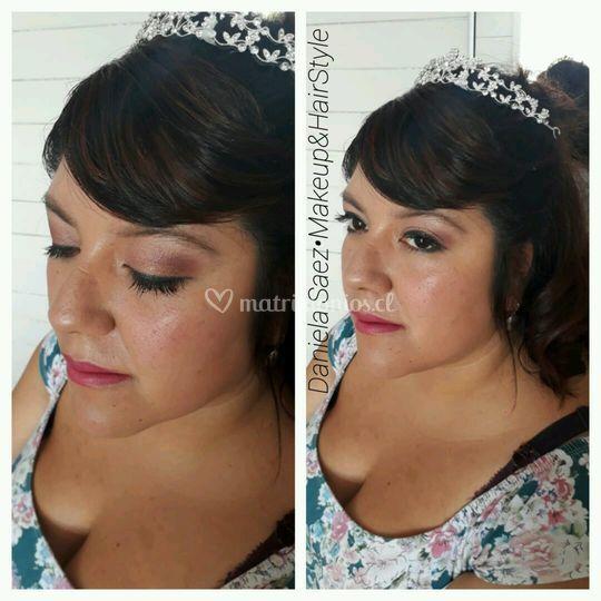 Maquillaje Peinado Novia